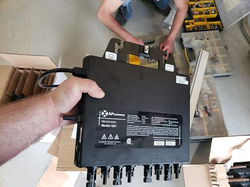 Micro-inverter for home solar panel installation