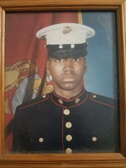 Larry Moore military