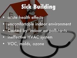 Sick Building Syndrome symptoms