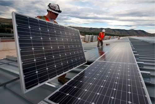 Section 201 Commercial Solar Panel Insstallation