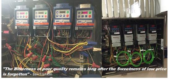 Cheap vs. quality DCKV system