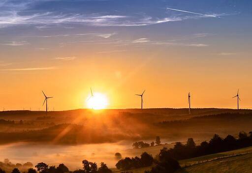 Renewable energy wind turbine power